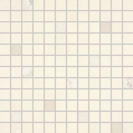 Mozaika Rako Up slonová kost 30x30 cm, lesk, rektifikovaná WDM02510.1