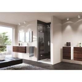 Sprchové dveře Huppe Strike jednokřídlé 80 cm, čiré sklo, chrom profil, pravé 430201.092.322