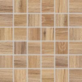 Mozaika Rako Faro světle hnědá 30x30 cm, mat, rektifikovaná DDM06717.1