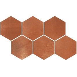 Dekor Rako Via červenohnědá 21x37 cm, mat, rektifikovaná DDVT8712.1