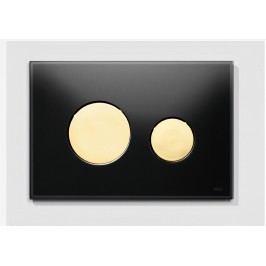 Ovládací tlačítko Tece Loop sklo, zlatá 9.240.658