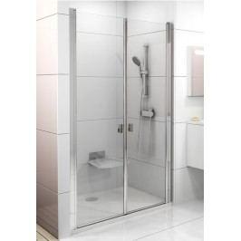 Sprchové dveře RAVAK CSDL2-100 bílá+Transparent 0QVAC10LZ1