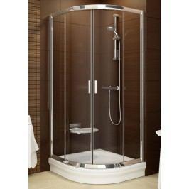 Sprchový kout RAVAK BLCP4-80 satin+Transparent 3B240U00Z1