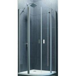 Sprchový kout Huppe Design Pure jednokřídlé 100 cm, R 550, čiré sklo, chrom profil DPU2100190CRT