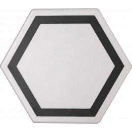 Dlažba Tonalite Examatt bianco exatarget 15x17 cm, mat EXMDEXABI
