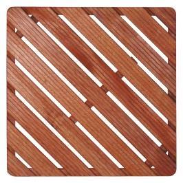 Sprchová rohož-dřevo ČTVEREC 75x75x4cm ROHOZ90Q