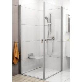 Sprchový kout RAVAK CRV1-90 bílá+Transparent 1QV70101Z1