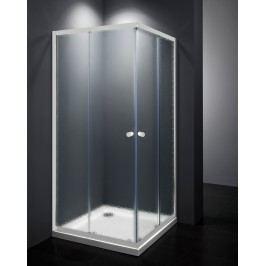 MULTI sprchový kout čtverec bílá/neprůhledné sklo 80x80cm - SIKOMUQ80CH0