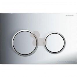 Dvojčinné ovládací tlačítko Geberit Omega plast, chrom 115.085.KH.1