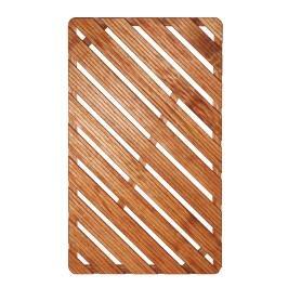 Sprchová rohož-dřevo 100x60x4cm ROHOZ12080