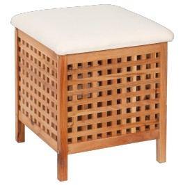 MULTI Koš se sedátkem, úložným prostorem, masiv ořech - SEDORECH
