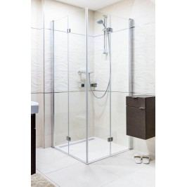 ANIMA sprchový kout skládací 80x90cm, čiré sklo/chrom profil - SIKOSK8090