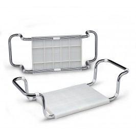 Vanové sedátko na okraj vany, bílá SED2104