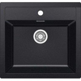 Dřez Franke 56x53 cm černá SID610C