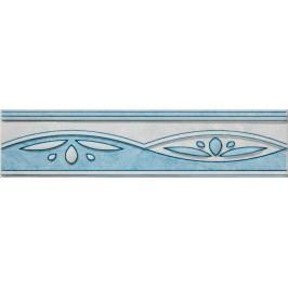 Listela Multi Laura modrá 6x25 cm, lesk WLAGF054.1