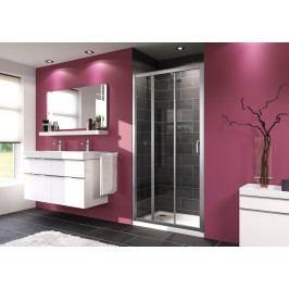 Sprchové dveře Huppe Next posuvné 80 cm, čiré sklo, chrom profil 140301.069.322