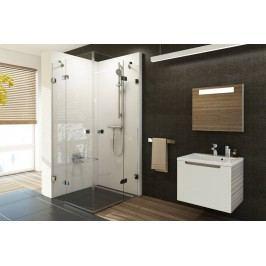 Sprchový kout RAVAK BSRV4-90 chrom+transparent 1UV77A00Z1