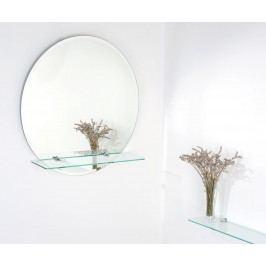 Amirro Georgina prům. 60 - zrcadlo s poličkou 125-615