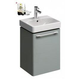 Skříňka s umývátkem Kolo Kolo 45 cm, platinová šedá, univerzální otevírání SIKONKOT45PS