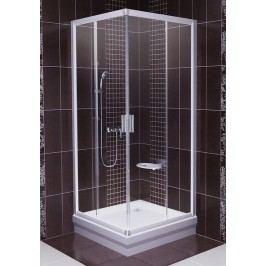 Sprchový kout RAVAK BLRV2-90 satin+Transparent 1LV70U00Z1