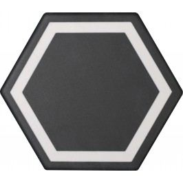 Dlažba Tonalite Examatt nero exatarget 15x17 cm, mat EXMDEXANE