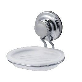 Mýdlenka Ecoloc, bílá/chrom ECO39