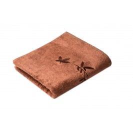 Ručník Kongo 100x50 cm, hnědá, 500 g/m2 RUC010