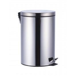 Odpadkový koš 20 l, chrom, nerez, lesk KOS20NEW