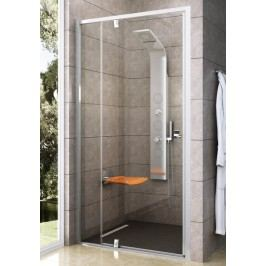 Sprchové dveře RAVAK PDOP2-120 bílá/bílá+transparent 03GG0101Z1