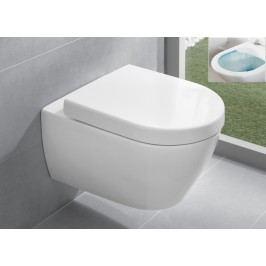 Závěsné WC Villeroy & Boch Subway 2.0, zadní odpad, 56,5cm 5614R0R2