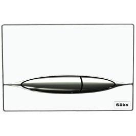 Ovládací tlačítko Siko sklo, bílá P46-0003