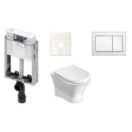 ROCA Závěsný komplet na zazdění WC Nexo KMPLNEXOT