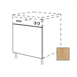 LUSI24 Kuchyňská dvířka na myčku v.60xš.60cm, s panelem, dub - 698.GSB60