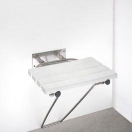 BEMETA 301102182 HELP: Sklopné sprchové sedátko s opěrnou nohou, nerez brus