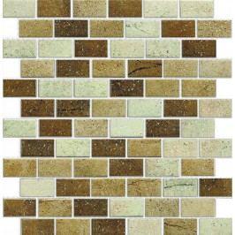 Keram.mozaika cihl.béžový mix 4,8/2,3 MOS4823MIXBE