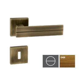 Klika LINHA1-HR,bronz česaný mat,WC LINHA1HROGSWC