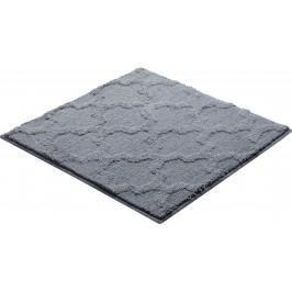 Koupelnová předložka polyester Grund 55x55 cm, šedá SIKODGNAN553