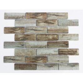 Premium Mosaic Mozaika sklo brick brown 31x98 MOSV98BBR