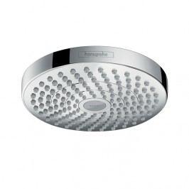 Hansgrohe Croma Select S - Horní sprcha 180 mm 2jet, bílá/chrom 26522400
