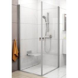 Sprchový kout RAVAK CRV1-90 satin+Transparent 1QV70U01Z1