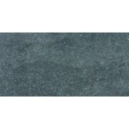 Dlažba Rako Kaamos černá 30x60 cm, protiskluz, rektifikovaná DAKSE588.1