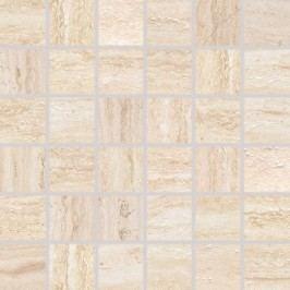 Mozaika Rako Alba béžová 30x30 cm, protiskluz, rektifikovaná DDM06731.1