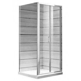 Jika Lyra plus Sprchové dveře skládací 80cm L/P, sklo transparentní H2553810006681