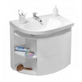 RAVAK SDU Rosa Comfort R bílá/bílá X000000329