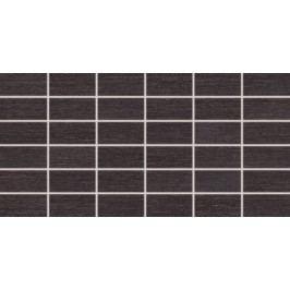 Mozaika Rako Fashion černá 30x60 cm, mat, rektifikovaná DDMBG624.1