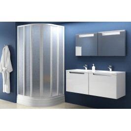 Sprchový kout RAVAK SKKP6-90 bílá+transparent 32070100Z1
