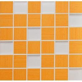 Mozaika Fineza Via veneto arancio 30x30 cm, mat GDM05060.1