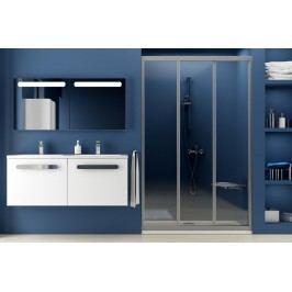 Sprchové dveře RAVAK ASDP3-80 satin+transparent 00V40U02Z1