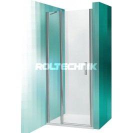 Sprchové dveře Roltechnik jednokřídlé 80 cm, čiré sklo, chrom profil TDN1800TBR