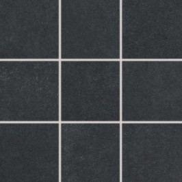 Dlažba Rako Trend černá 10x10 cm, mat, rektifikovaná DAK12685.1
